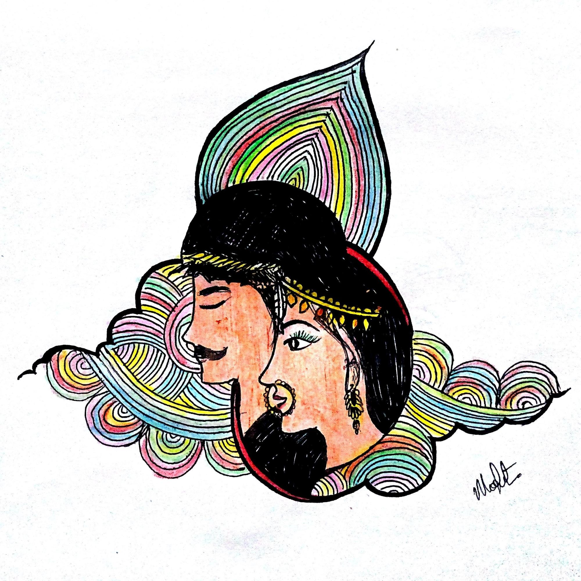 Illustrated by Modita Kathpalia.