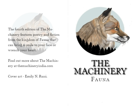 The Machinery Fauna Cover by Emily N. Rassi