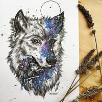 don't give your heart to a wandering wolf by Yuyan Deanna Lim